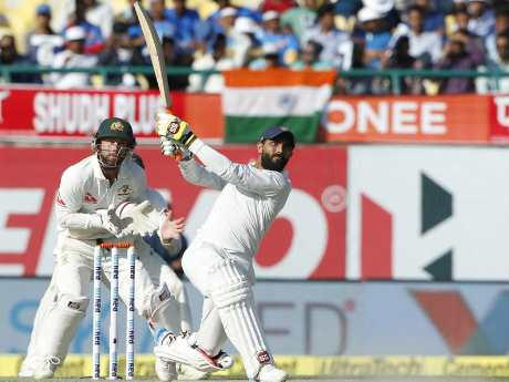 India vs australia 4th test,Jadeja is the Man of the Match